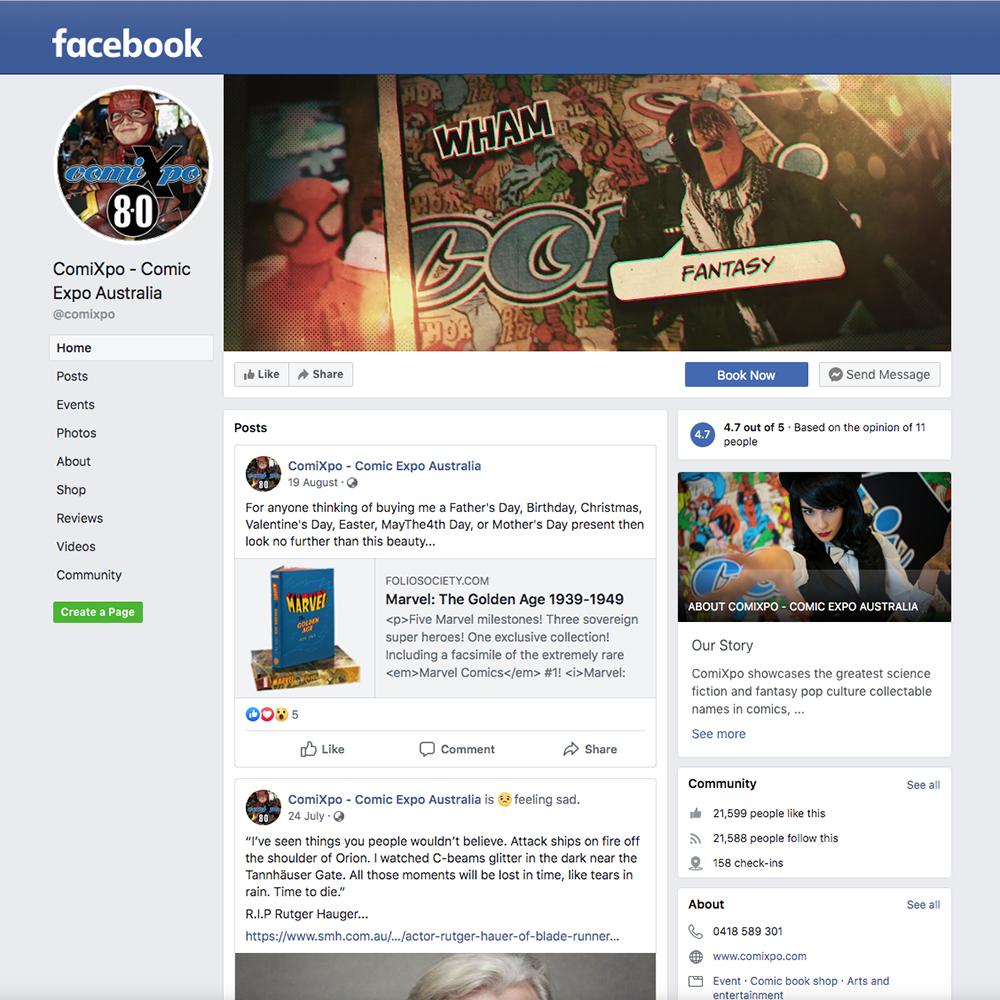 Facebook-ComiXpo