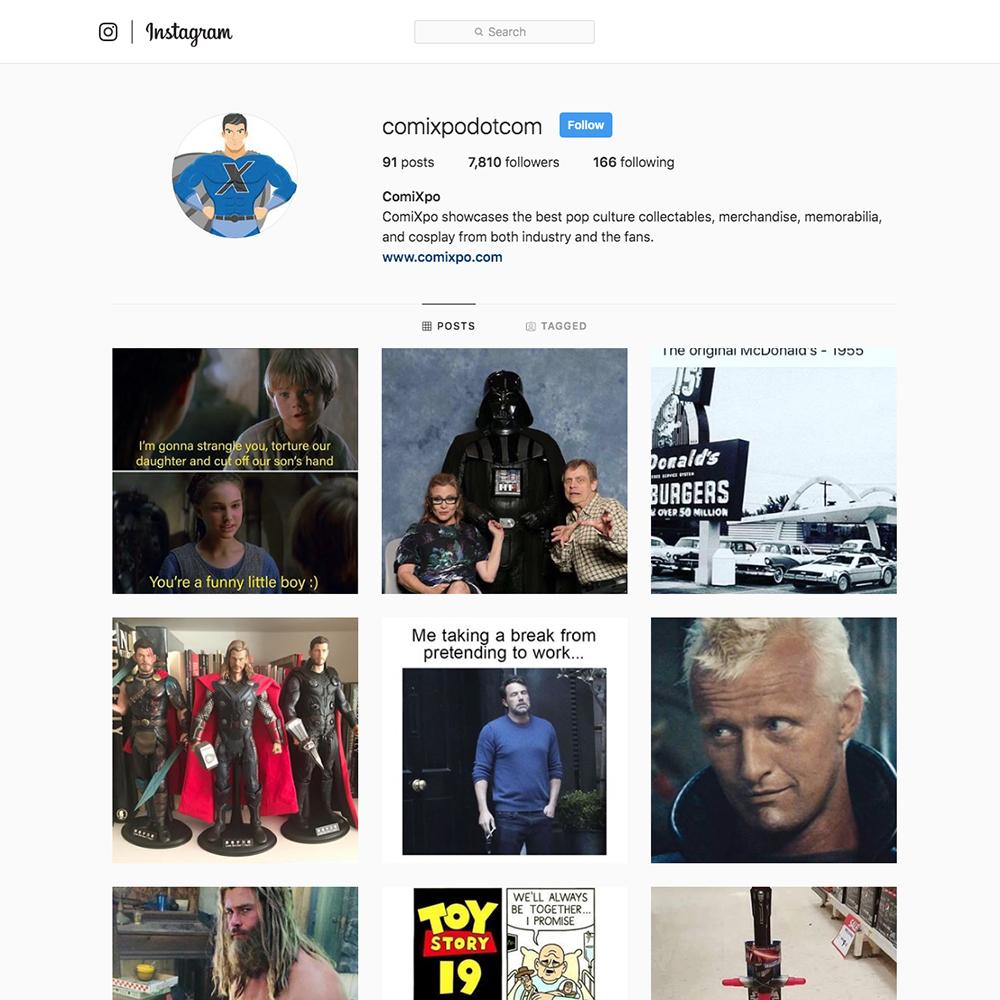 Instagram-ComiXpo