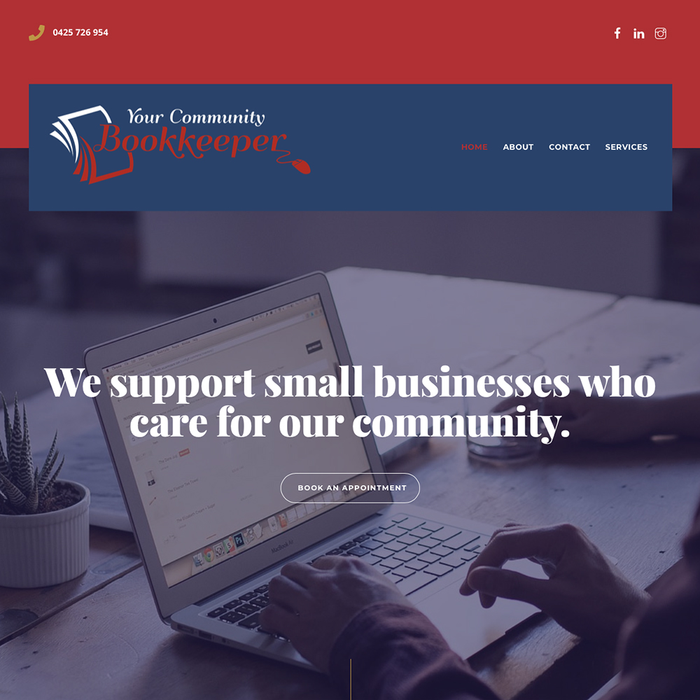 community-bookkeeper-website